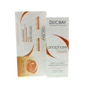 Ducray Anacaps Tri-activ + Anaphase Shampooing 200 ml Gratuit 90 capsules