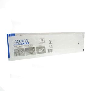 Aquacel Extra Hydrofiber 4x30cm 420822 10 stuks