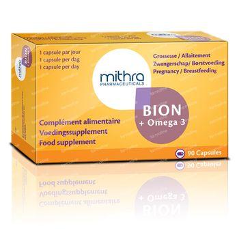 Mithra Bion & Omega 3 90 comprimés