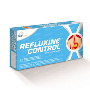 Refluxine 20mg 14 St Tabletten