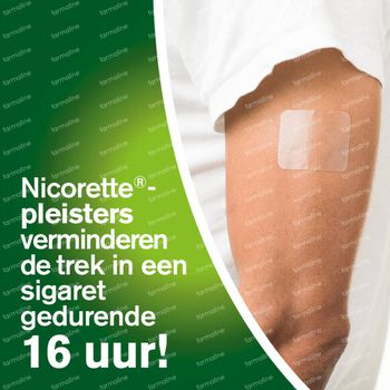 Nicorette® Invisi Patch 10mg - bij Stoppen met Roken 14 pleisters