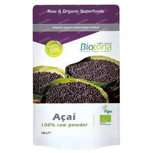 Biotona Bio Açai Raw Powder 200 g powder
