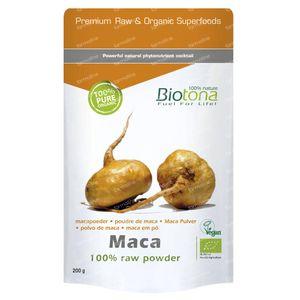 Biotona Bio Macapoudre 200 g poudre