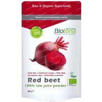 Biotona Bio Rote-Bete-Saft Pulver 200 g pulver