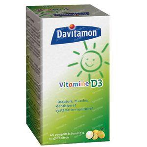 Davitamon D3 120 comprimés sublinguaux