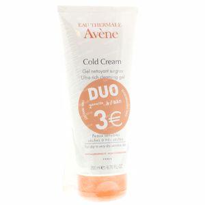 Avene Cold Cream Overvette Reinigingsgel PROMO 2de -3 Euro 2200 ml