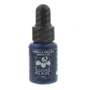 Lisandra Cosménail Nail Polish 114 Blue Lagoon Nacré 5 ml
