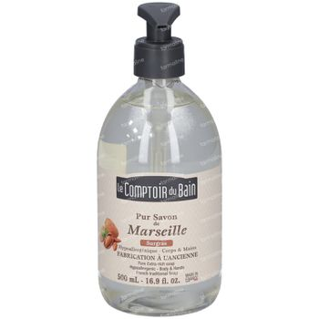 Le Comptoir du Bain Pur Savon de Marseille Hypoallergénique 500 ml