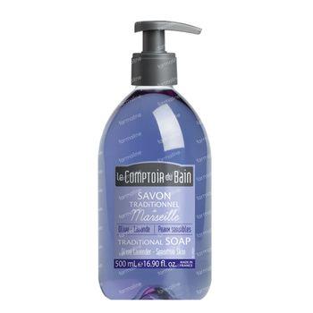 Le Comptoir du Bain Savon Traditionnel de Marseille Olive - Lavende 500 ml