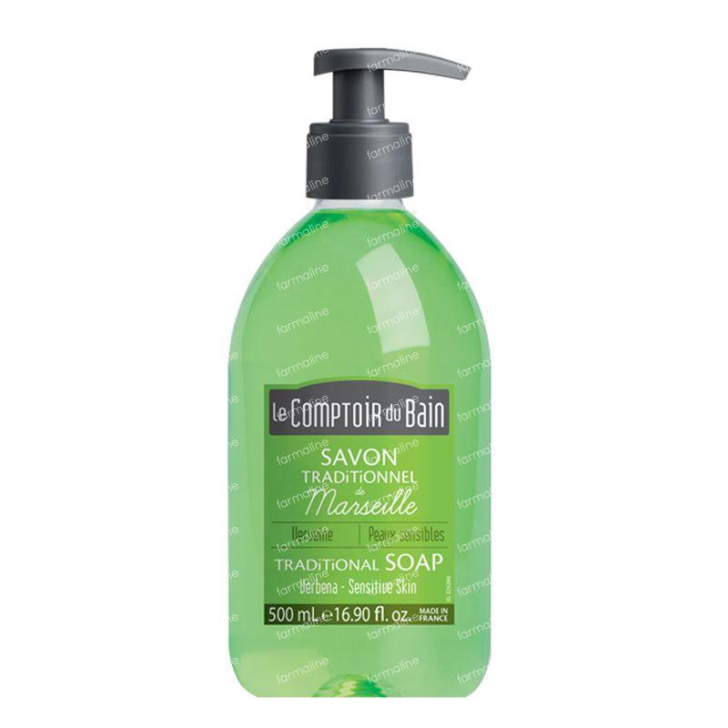 Le comptoir du bain verbena marseille traditional soap 500 for Le comptoir du meuble bruxelles