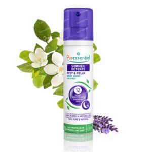 Puressentiel Slaap Ontspanning Luchtspray 12 Essentiële Oliën 200 ml