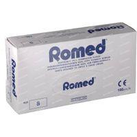 Romed Gants Chirurgicaux En Vinyle Jetable Small 100 st