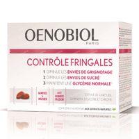 Oenobiol Contrôle Fringales Gommes - Inhibe le Besoin de Collations, Minceur & Perte de Poids 50 pièces