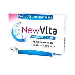 Newvita Pronatal 0,4 mg 100 comprimés