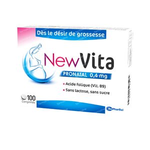 Newvita Pronatal 0,4 mg 100 tabletten