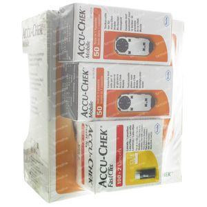 Accu-Chek Mobile Startkit mg/dl 1 stuk