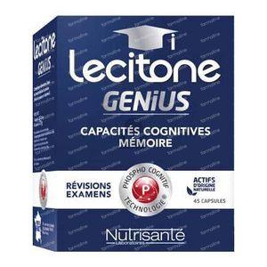 Nutrisanté Lecitone Genius 45 St Capsules