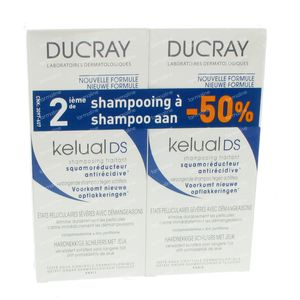 Ducray Kelual DS Shampooing Duopack 200 ml