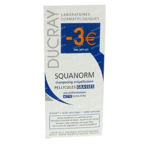 Ducray Squanorm Vette Schilfers Shampoo PROMO -3 € 200 ml