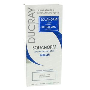 Ducray Squanorm Lotion Anti-Roos Zink PROMO -3 € 200 ml lotion