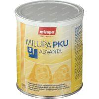 Milupa P K U 3 Advanta 500 g pulver