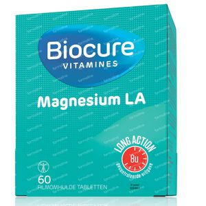 Biocure Magnesium Long Action 60 tabletten