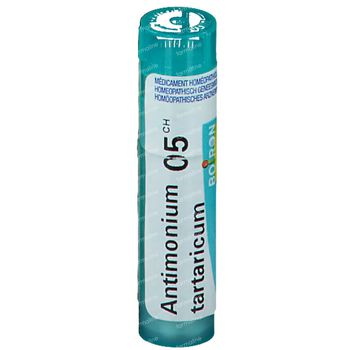 Boiron Gran Antimonium Tartaricum 5Ch 4 g