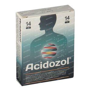 Acidozol Suc Gastrique Resist10mg 14 capsules