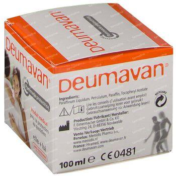 Deumavan Intieme Zalf Natuur 100 ml