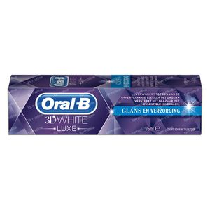 Oral-B Dentifrice 3D White Luxe Healthy Shine 75 ml