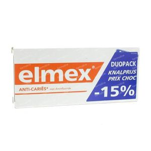 Elmex Tandpasta Anti-Cariës Volwassen Bitube 150 ml