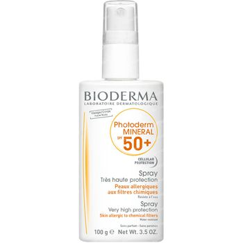 Bioderma Photoderm Mineral Peau Sensible SPF 50+ 100 g spray