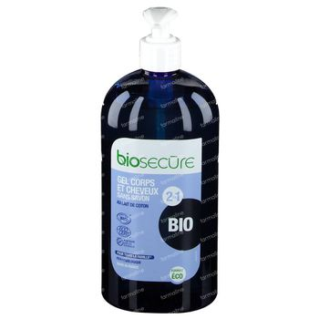 Bio Secure Gel Corps-Cheveux 730 ml