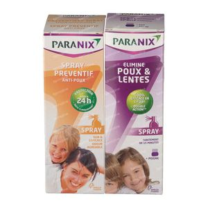 Paranix Lotion Duo + Preventative Spray + Comb + Sleeve 1 St
