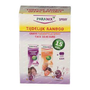 Paranix Lotion Duo + Preventative Spray + Comb + Sleeve 1 St