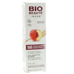 Bio Beauté Silky Perfecting BB Cream With Peach Extract Light Complexion 30 ml Cream