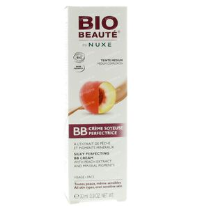 Bio Beauté Silky Perfect BB Cream With Peach Extract Medium Complexion 30 ml cream
