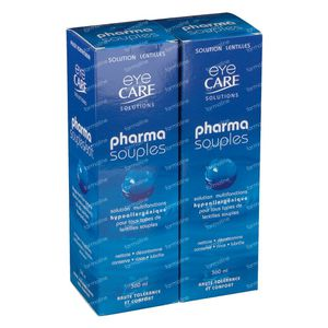 Eye Care Pharma Souple Duo Pack 360 ml