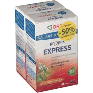Ortis Propex Express Duo 2do a -50% 2 x 45 St Comprimidos