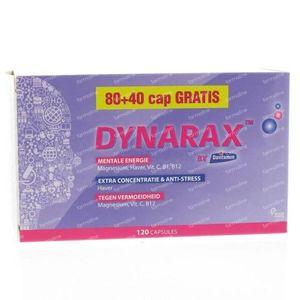 Dynarax Energy +40 Gratis 120 capsules