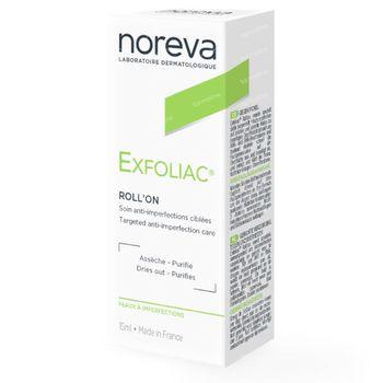 Noreva Exfoliac Roll-On Soin Anti-Imperfectin Action Ciblée 5 ml