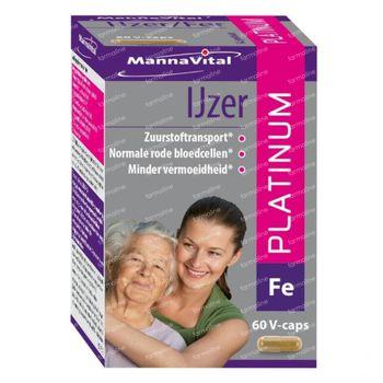 Mannavital Fer Platinum 60 capsules