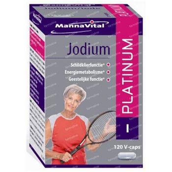 Mannavital Jodium Platinum 120 capsules