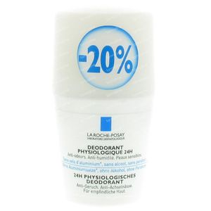 La Roche Posay Physiological Deodorant  24h Roll-On -20% 50 ml