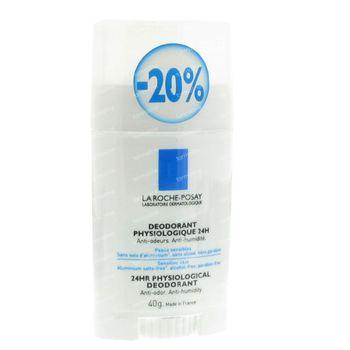 La Roche-Posay Deodorant Physiologique  24h Stick 40 g stick