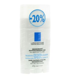La Roche Posay Physiological Deodorant  24h Stick 40 g stick