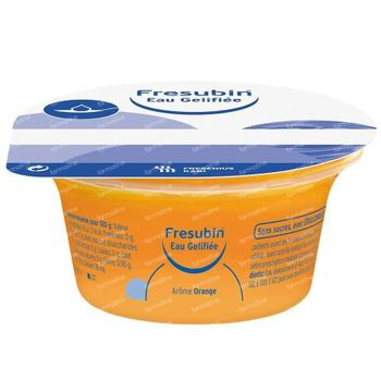 Fresubin Eau Gélifiée Sans Sucre Orange 1500 g