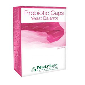 Probiotic pearls yeast balance 30 St Capsules