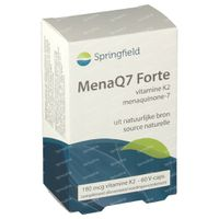 Springfield MenaQ7 Forte Vitamine K2 180 mcg 60  tabletten