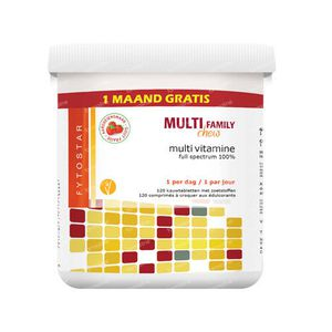 Multi chew multivitamine 120 tabletten